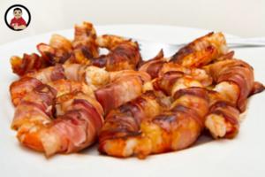 Bacon-wrapped shrimp, appetizers, appetizer recipes