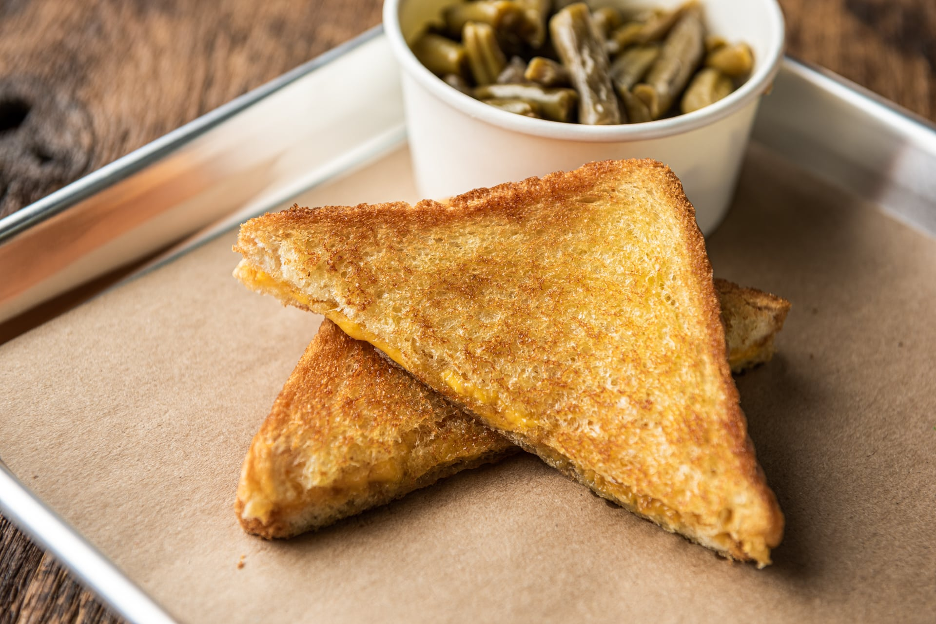 Kids Grilled Cheese Sandwich