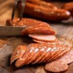 smoke meat sausage