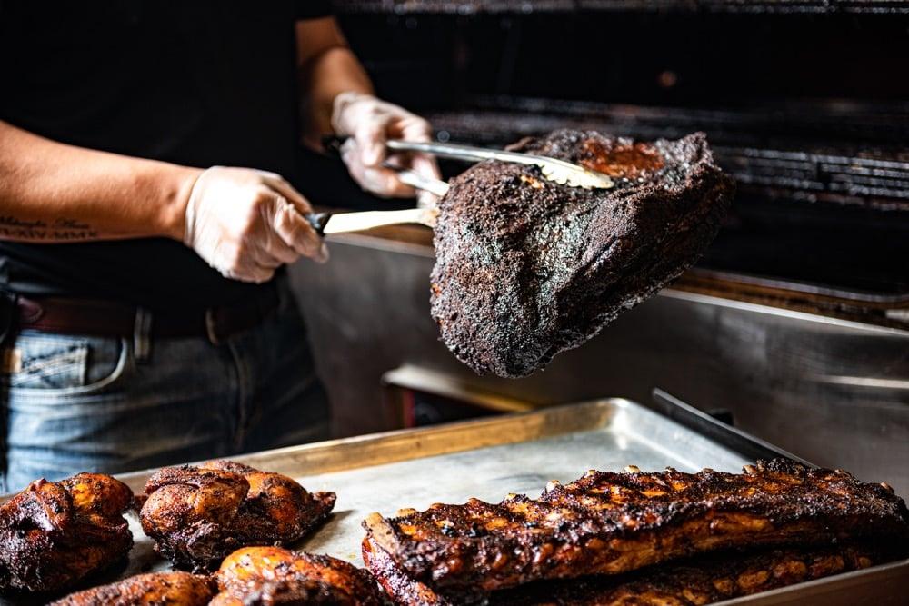 Smokey Mo's BBQ Meat, BBQ rub, rub