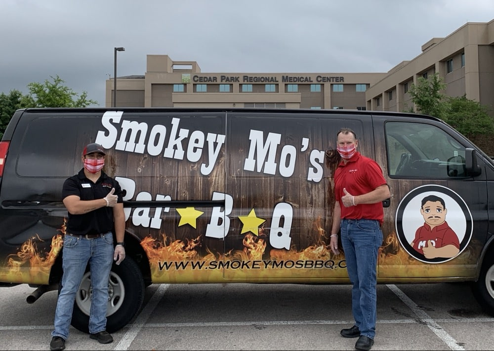 community initiatives, Smokey Mo's BBQ