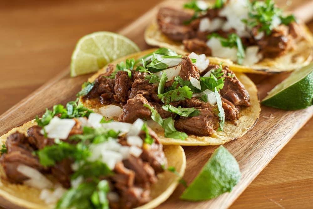 Tex-Mex BBQ, Brisket tacos